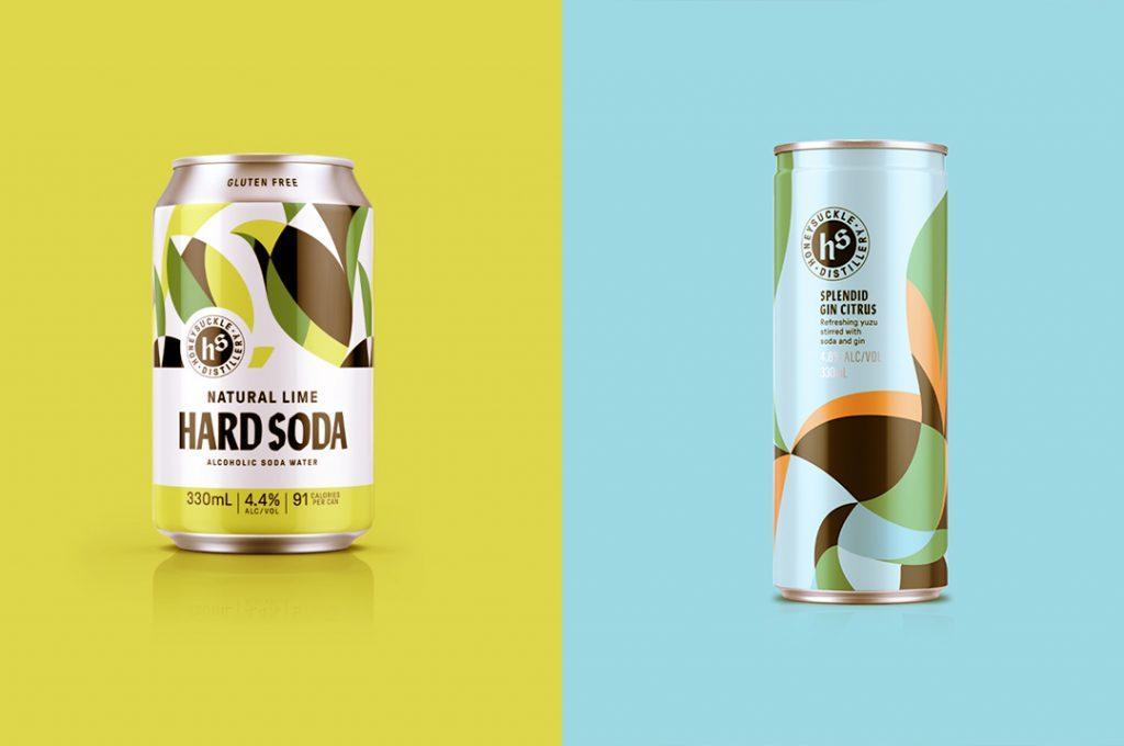 Hard seltzer and hard soda