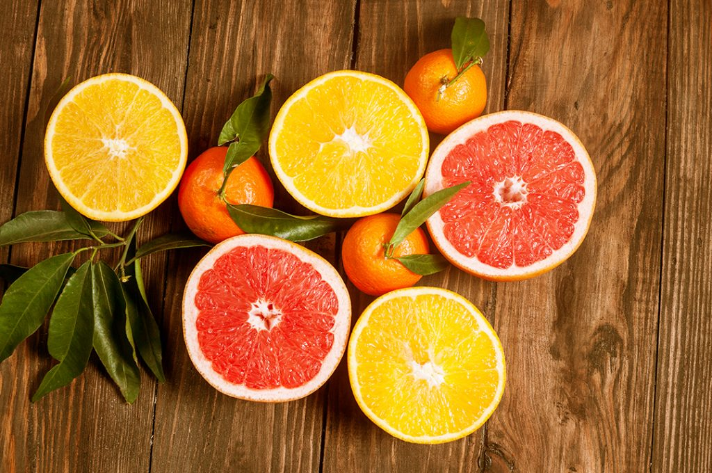 add a zesty boost with a citrus pre mixed drink garnish