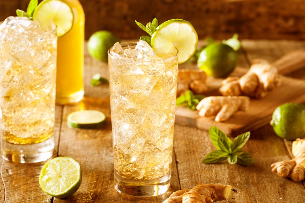 Mint to be all natural hard soda