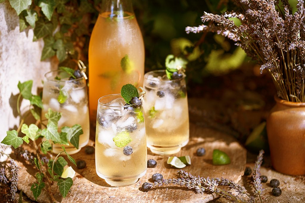 fruity natural hard soda